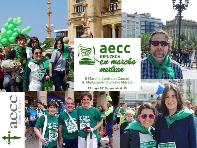 AECC fundraising race and walk
