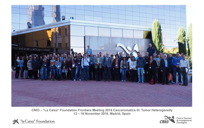 Canceromatics event at CNIO